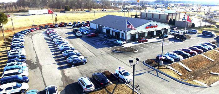 Riverside car dealership