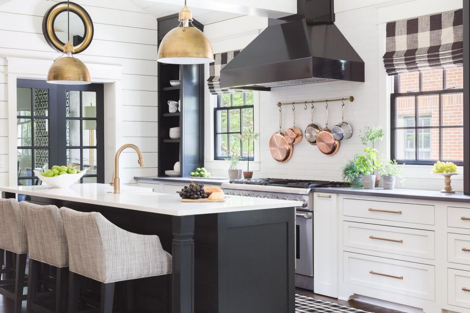 Seeing Dark Kitchen Cabinet Design in a New Light