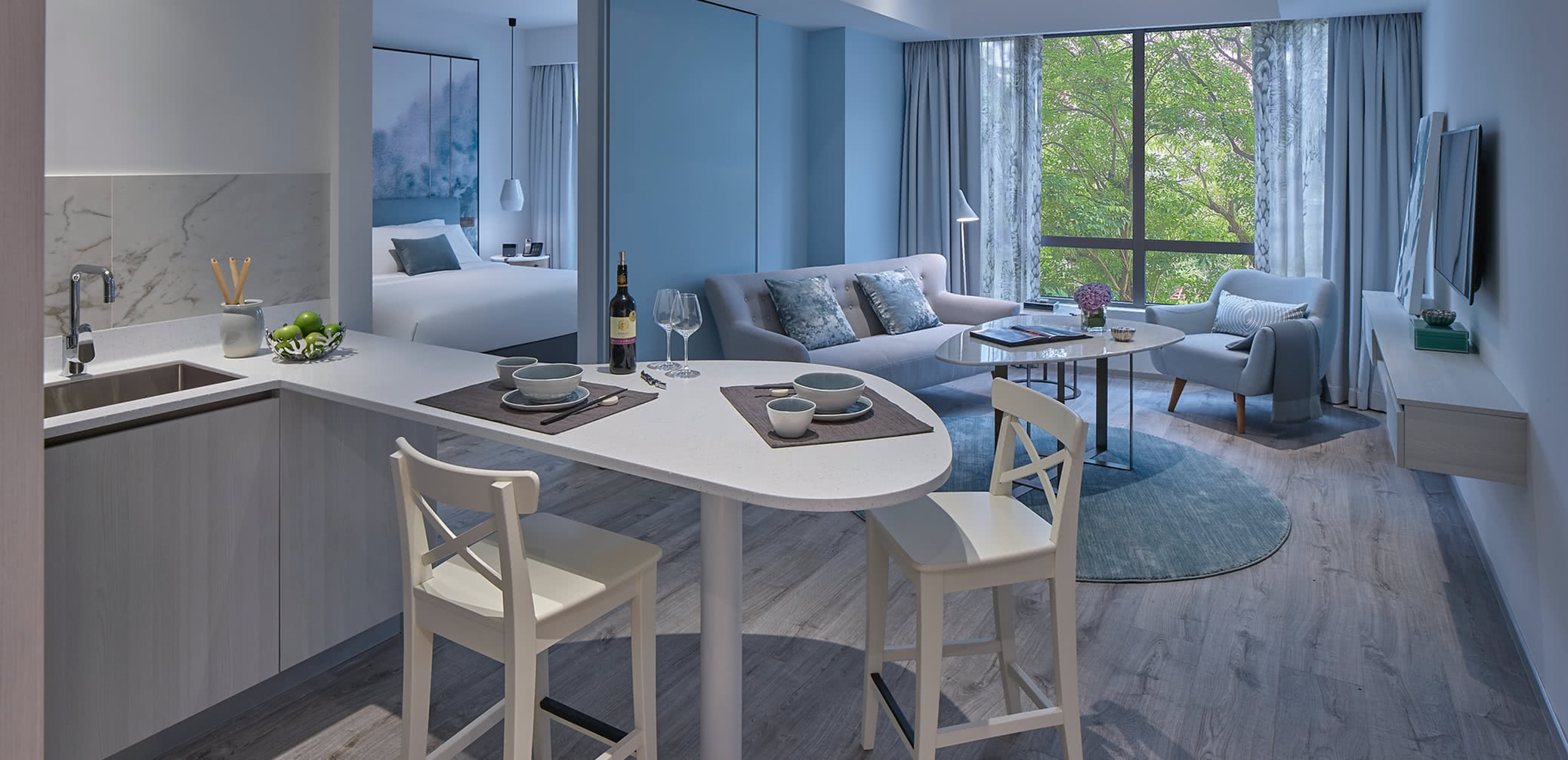service apartments singapore